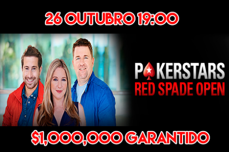 Red Spade Open - $1,000,000 Garantido este Domingo na PokerStars