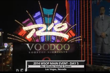 Podívejte se na 7. a 8. epizodu souhrnu Main Eventu Mistrovství světa v pokeru