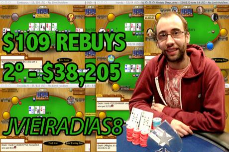 Joel Dias Carrega e Phounder 2º no $82 PLO