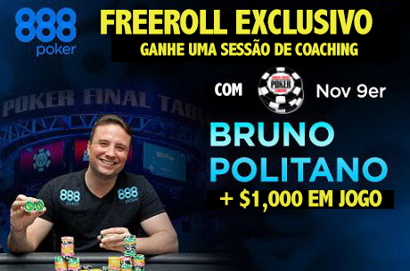 Exclusivo PokerNews: Ganha uma Sessão de Coaching com Bruno Foster