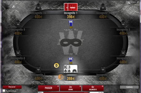 Winamax Launches Anonymous Cash Games