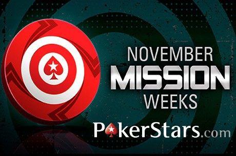 """PokerStars skelbia """"Misijų savaitę"""": žaidėjai išsidalins $225,000"""