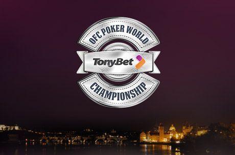 Ganha um Lugar de €1,000 no Campeonato do Mundo de OFC Poker na TonyBet Poker