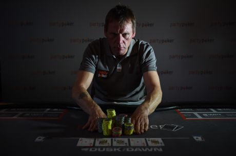 Football Legend Stuart Pearce Receives a Lesson in Poker