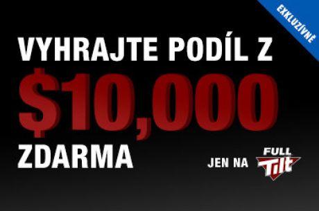 Kvalifikuj se na náš $10.000 exkluzivní Full Tilt Poker freeroll v listopadu!