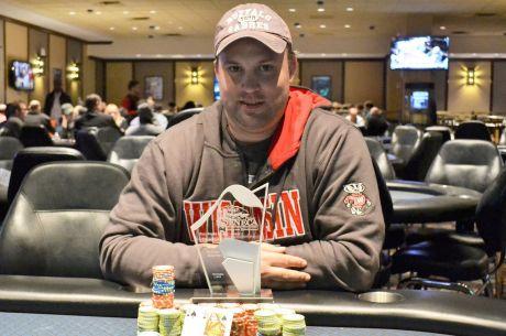 Scott Hosbach vyhral na 1. evente 2014 Seneca Fall Poker Classic