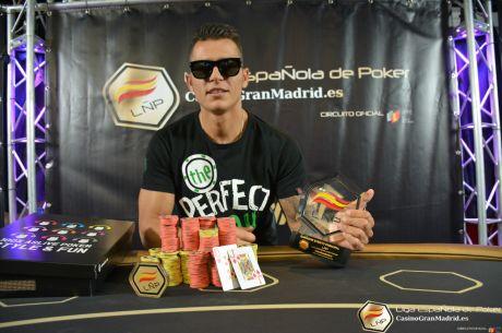 Luis Navas consigue la victoria en la cuarta etapa de la Liga Española de Poker