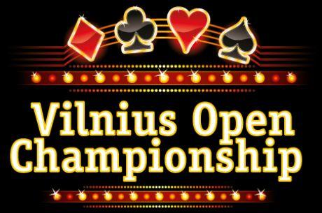 Lapkričio 25-30 dienomis - Vilnius Open Championship gyvo pokerio serija