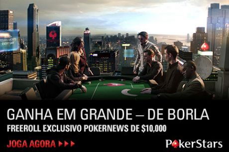Freeroll Exclusivo de $10,000 dia 5 de Dezembro na PokerStars