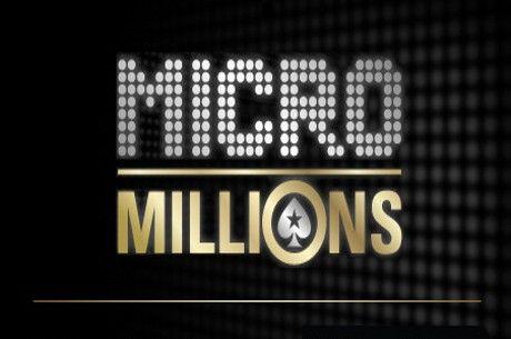 Šiandien į PokerStars sugrįžta žemų įpirkų MicroMillions serija