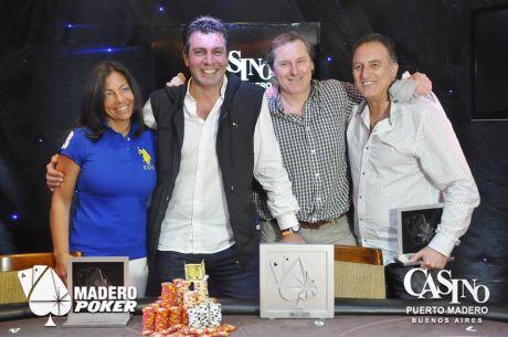 Mario Niciforo es el campeón de la penúltima Master Cup 007