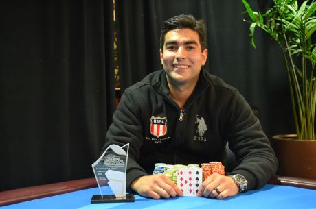 Siavash Banai Makes Back-to-Back Final Tables, Wins Seneca Fall Poker Classic Event #3
