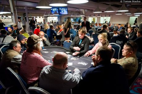 2014 PokerStars King's Cup Rozvadov Day 1a: Action Kicks Off and Roman Mikus Leads