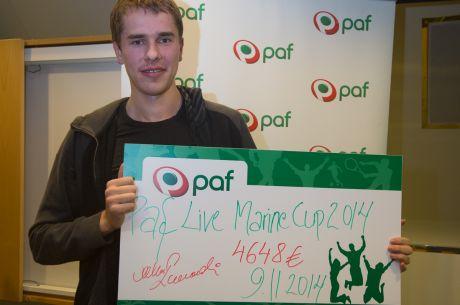 Paf Live Marine Cup põhiturniiri võitis Markku Koplimaa