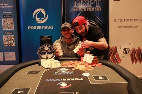Ник Живков спечели PokerNews Mid-States Poker Tour в Meskwaki Casino за...