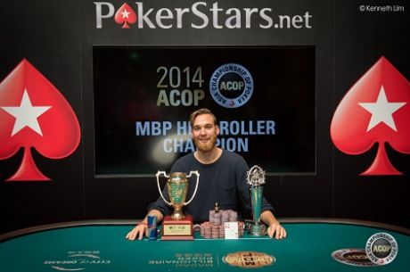 Fabian Quoss Wins Macau 2014 ACOP High Roller for HK$5,271,000