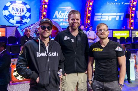 Final Three of the 2014 WSOP Main Event Set with van Hoof, Jacobson, and Stephensen