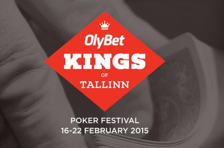 Veebruaris toimub Eestis regiooni suurim pokkerifestival Olybet Kings of Tallinn
