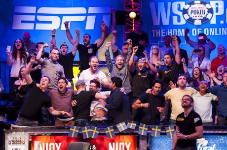 2014 WSOP Main Event Šampion Martin Jacobson na CNBC-ju