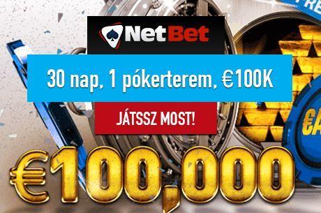 €100.000 vár rád a NetBet freeroljjainkon novemberben minden vasárnap