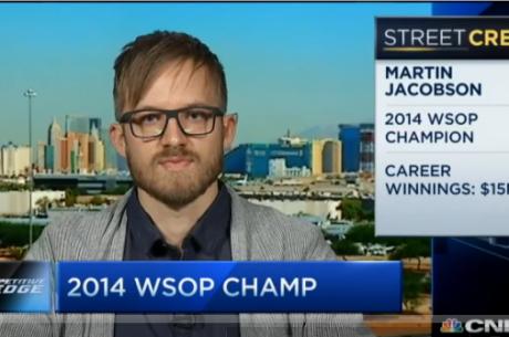 Šampion WSOP Main Eventu 2014 Martin Jacobson poskytl rozhovor pro CNBC