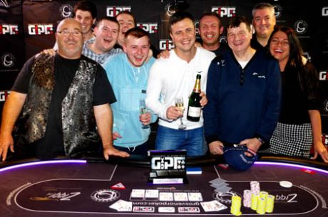Justin Astley Wins the 2014 GUKPT Blackpool Main Event
