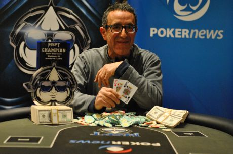 Reza Yazdi Wins 2014 MSPT Golden Gates; Kevin Boudreau Fourth in Return to Poker