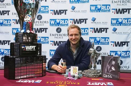 Dylan Wilkerson Wins WPT Emperors Palace Poker Classic for $147,509