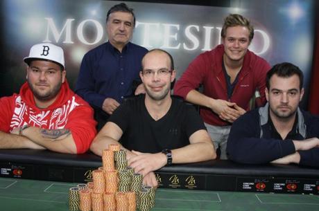 Víťazom 88,6 Poker weekendu v Montesine sa stal slovenský hráč, Marian Hrušovský