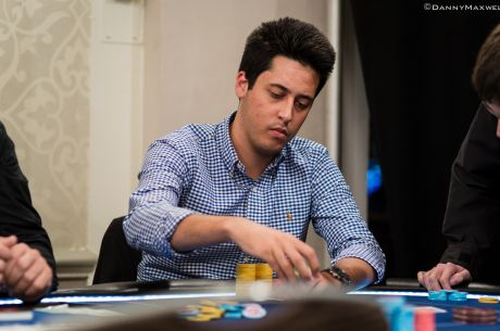Adrian Mateos je chileadem Dne 1A Main eventu WPT UK 2014