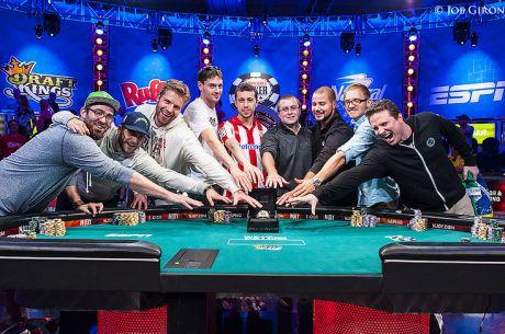 WSOP Finalo pakartojimas - 14 epizodų iš svarbiausio metų turnyro