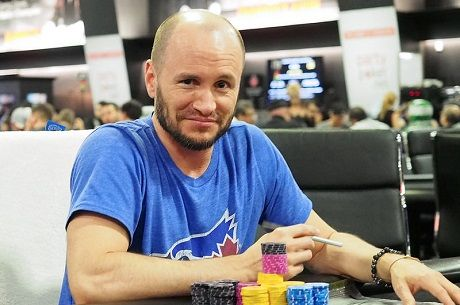 WPT Montreal Day 1b in Video: Mike Leah's Day