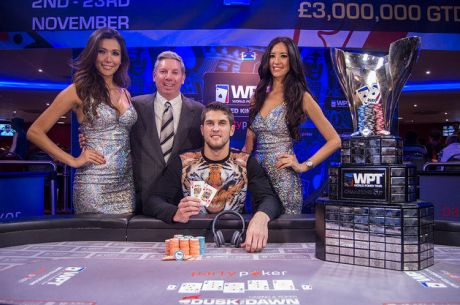 Matas Cimbolas gana el Main Event del partypoker World Poker Tour UK tras vencer a Ben...