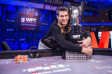 Matas Cimbolas Wins the 2014 partypoker WPT UK Main Event