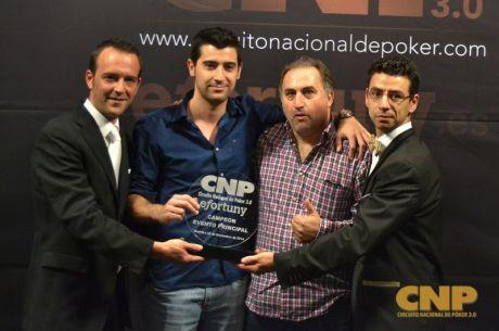 Javier Sánchez y Ángel Mena se reparten la gloria de la final del CNP 3.0