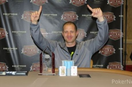 Jesse McEuen Talks His Way to Hollywood Poker Open Lawrenceburg Main Event Title