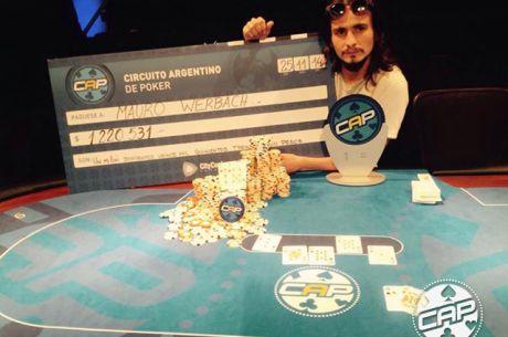 Mauro Werbach ganó la histórica final del Circuito Argentino de Poker