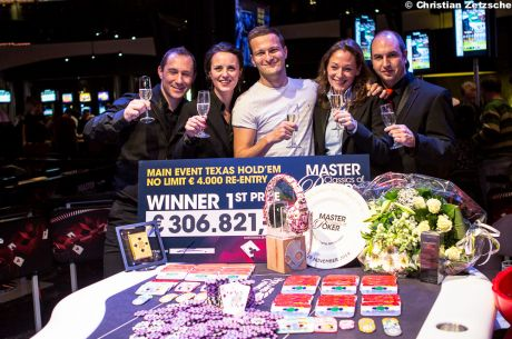 Ruben Visser Wins 2014 Master Classics of Poker Main Event for €225,000