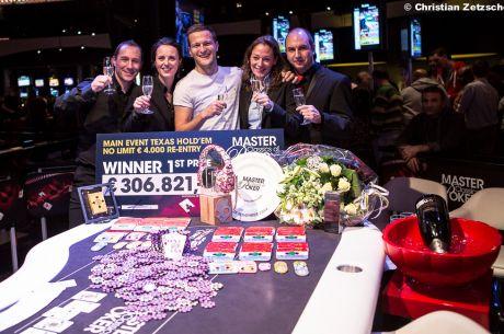Ruben Visser vítězem Master Classics of Poker Main Eventu 2014
