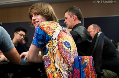 Charlie Carrel Leads Final 20 of the 2014 GUKPT Grand Final