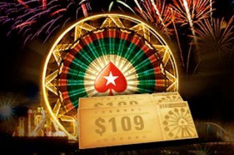 Karneval na PokerStars vyvrcholí ohňostrojom dolárov