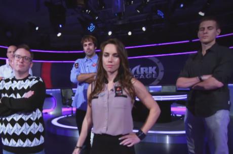 Shark Cage PokerStars: Jason Mercier,Liv Boeree, McDonald e Grafton em Jogo