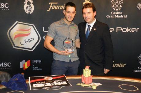 Roberto Martínez gana la 5.ª etapa de la LÑP en Peralada
