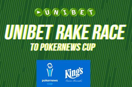 Folytatódik a PokerNews Cup, juss be most az Unibet Poker Rake Race-éről!
