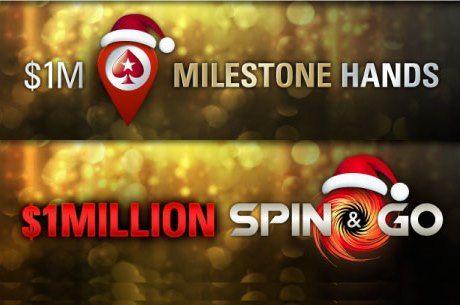 Мilestone печеливши ръце за $1,000,000 и специални Spin&Go...