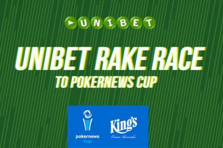 Zagraj w PokerNews Cup za darmo dzięki Unibet Rake Race!