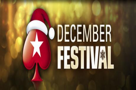 December Festival: $15,000,000 em Jogo na PokerStars