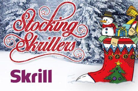 Ho Ho Ho - Skrill rozdaje 50 tysięcy euro w niesamowitej promocji
