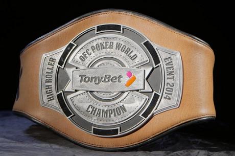 Víťazi Tonybet OFC World Championship dostanú originálne náramky