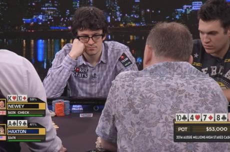 High Stakes Cash Game Aussie Millions 2014 - Episódio 1